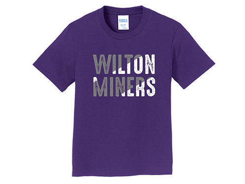 Wilton Miners Youth Short Sleeve