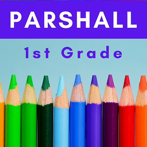 Parshall First Grader School Supply Package