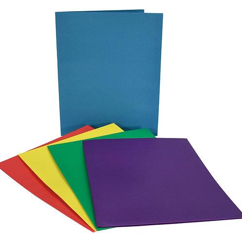 Folder, Dual-pocket, Paper