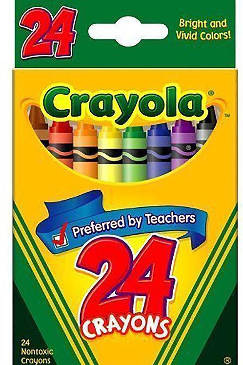Crayons, Crayola 24-Pack - DONATION