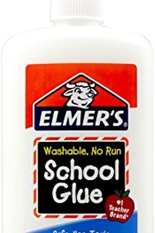 Elmer's Liquid Glue, White, 8 oz