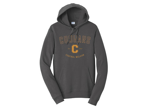 BB - Cougars Hoodie, Charcoal