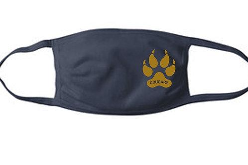 Cougars Mask, Pawprint