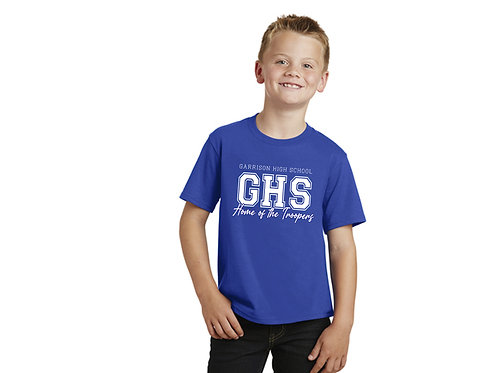 Garrison High School Home of the Troopers Youth T-Shirt