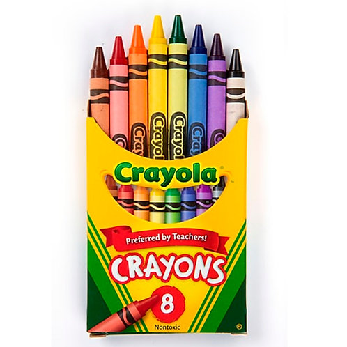 Crayons, 8-pack
