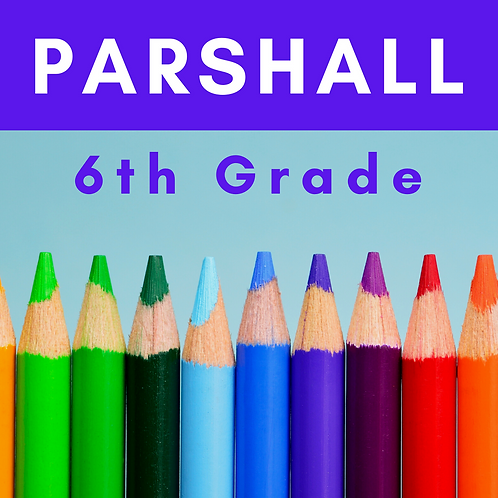 Parshall Sixth Grade School Supply Package