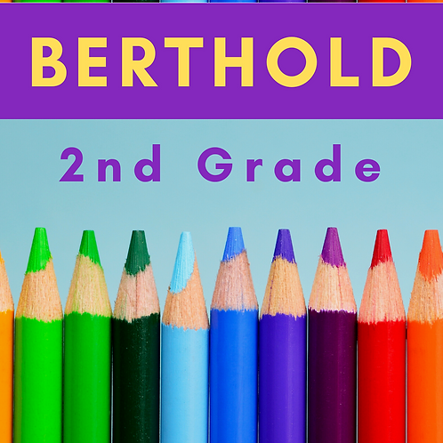 Berthold Second Grade School Supply Package