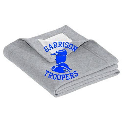 9 - Troopers Gilden Stadium Blanket, Heather