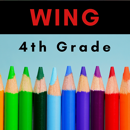 Wing Fourth Grade School Supply Package