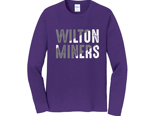 Wilton Miners Long Sleeve Tee