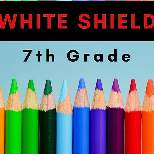 White Shield Seventh Grade School Supply Package