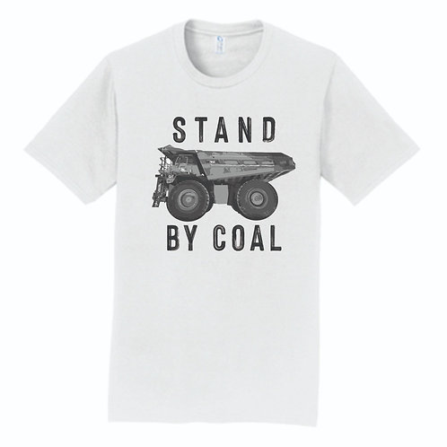 Stand With Coal Truck T-shirt, Choice of Color