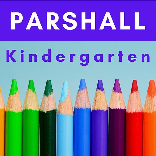 Parshall Kindergarten School Supply Package