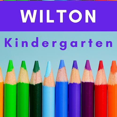 Wilton Kindergarten School Supply Package