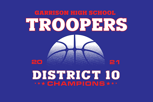 Garrison Troopers 2021 District 10 Champions Shirt