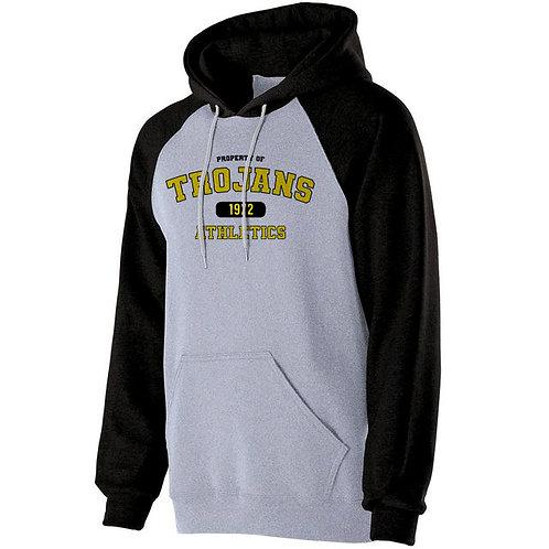 GG - Trojan Banner Hoodie, Black Sleeve