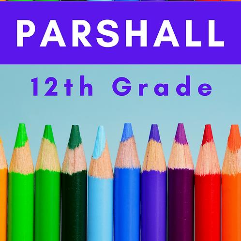 Parshall Twelfth Grade School Supply Package