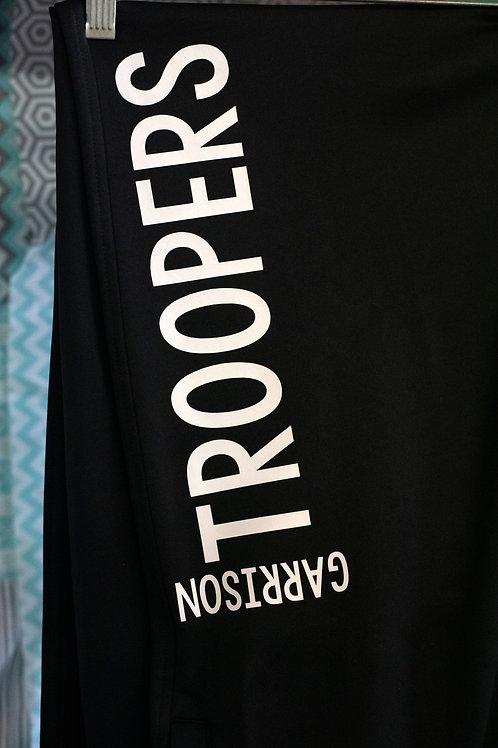 Sport-Tek Garrison Trooper Sweatpants, Black