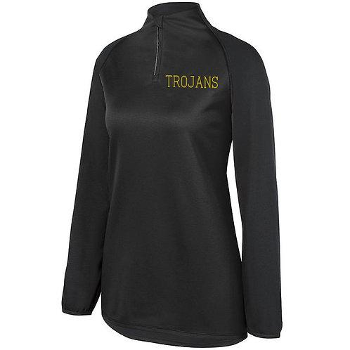 8 - Black Trojan Pullover, Ladies