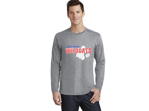 Center-Stanton Wildcats Long Sleeve T-shirt, Heather