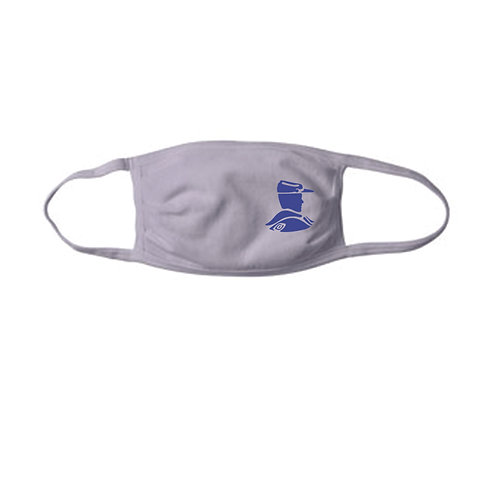 5 - Adult Troopers Face Mask, Silver