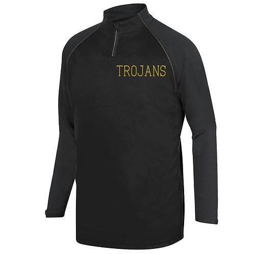 7 - Black Trojans Pullover, Unisex