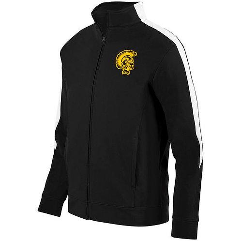 9 - Trojan Medalist Jacket, Black and white