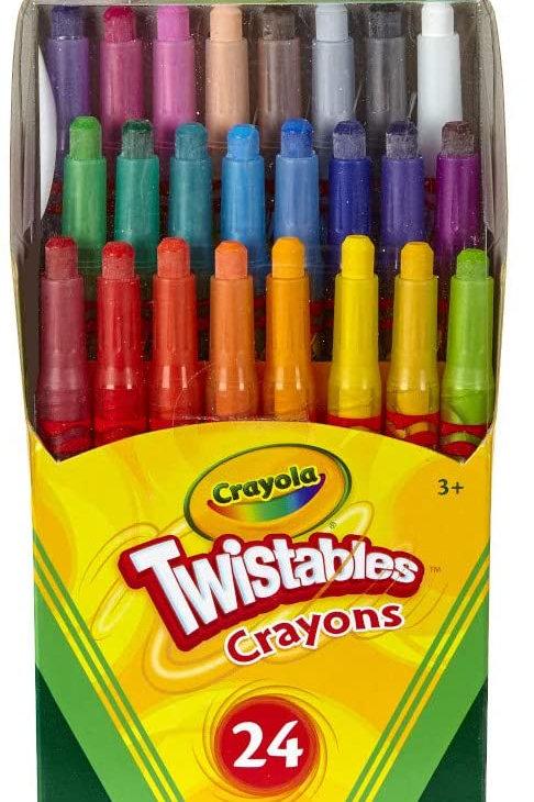 Crayons, Crayola 24-Pack Twistables
