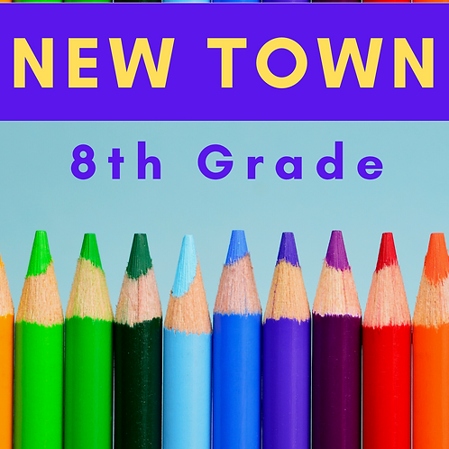 New Town Eighth Grade School Supply Package