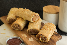 Flaky Pastry Sausage Rolls