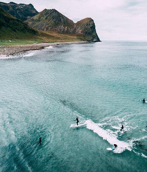 Kajsa Silow surf