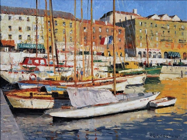 Yachts at Marseille