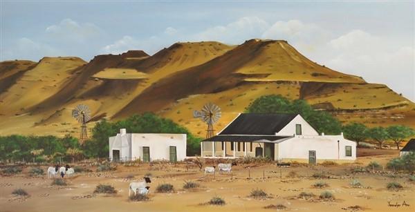 Farmstead Merweville, Great Karoo
