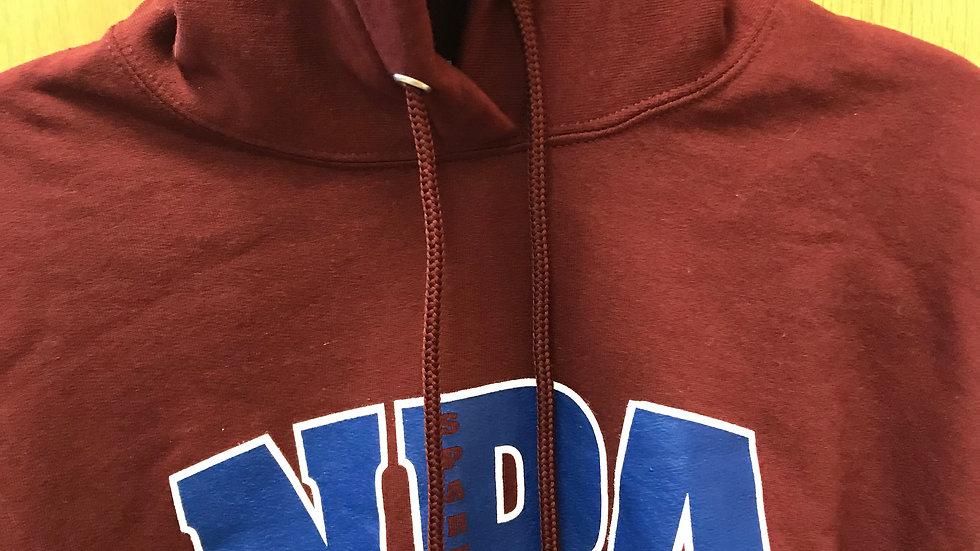 Sweatshirt, Hoody - Maroon