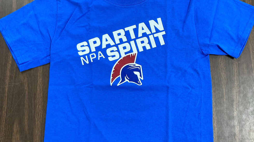 Short Sleeve T-Shirt - Blue