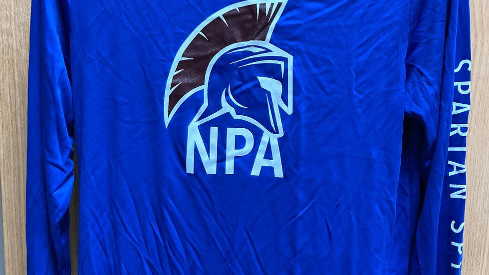 Long Sleeve Shirt - Blue