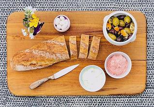 Taramasalata & Olives