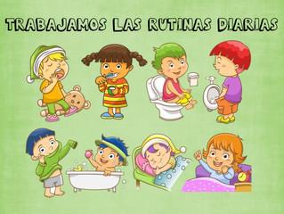HÁBITOS Y RUTINAS EN LOS INFANTES