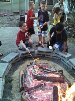 6 days of summer 2013 campfire marshmallow