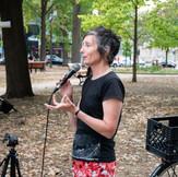 Lancement Interstices - Parc Lahaie, 27 août 2021 - Nancy Tobin