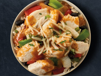 Good Eats: Chicken Fajita Bowl (Meal Prep Style!)