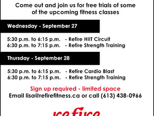 Free Trial of Fitness Group Classes!
