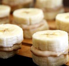 Banana Peanut Butter Bites