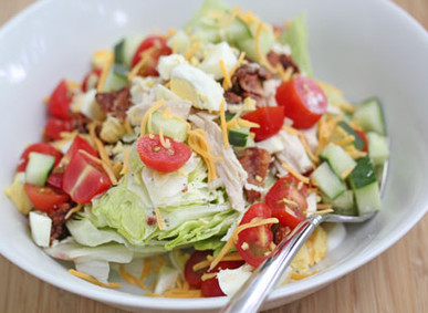 Good Eats: Chicken Cobb Salad
