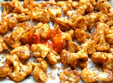 Good Eats: Spicy Cauliflower Bites