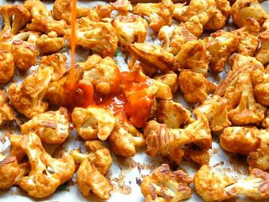 Good Eats: Spicy Cauliflower Bites