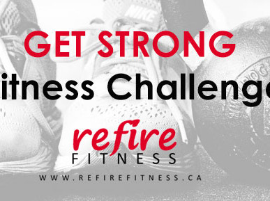 Get Strong! Online Fitness Challenge with Refire Fitness