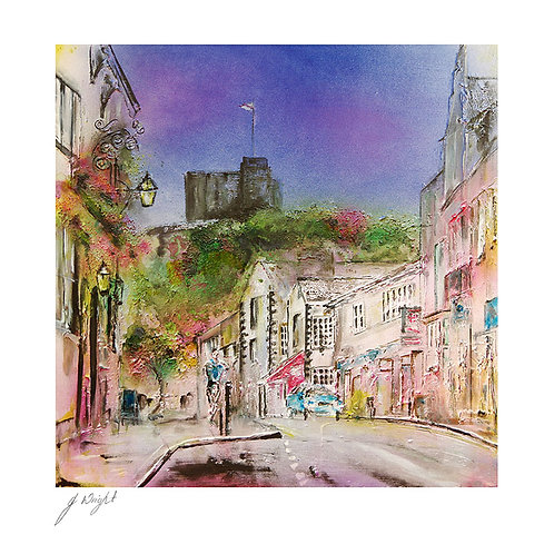 Clitheroe Castle Greetings Card