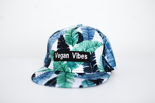 Blue Tropic Vegan Vibes Hat