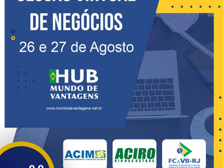Sessão Virtual de Negócios: Macaé e Rio das Ostras